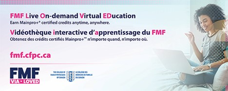 FMF Live On-demand Virtual EDucation banner graphic