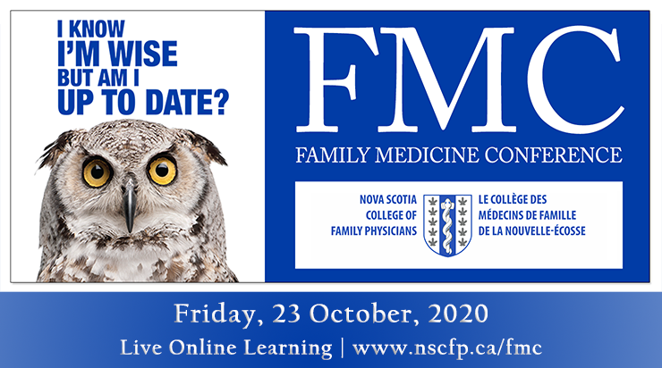 Banner images for Nova Scotia College of Family Physicians (NSCFP) Family Medicine Conference