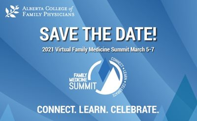 Save the Date! 2021 Virtual Family Medicine Summit March 5-7