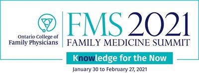 Ontario College of Family Physicians Family Medicine Summit 2021 banner